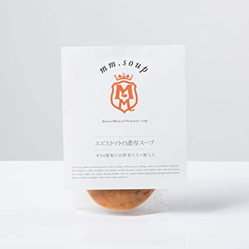 マーゼルマーゼル スープ 箱買い30個セット(オリジナルポーチ付き)【送料無料】 (エビとトマトの濃厚スープ(180g)  × 30個)