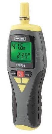 General Tools EP8703 Calibratable Multi-Function Digital Psychrometer by General Tools