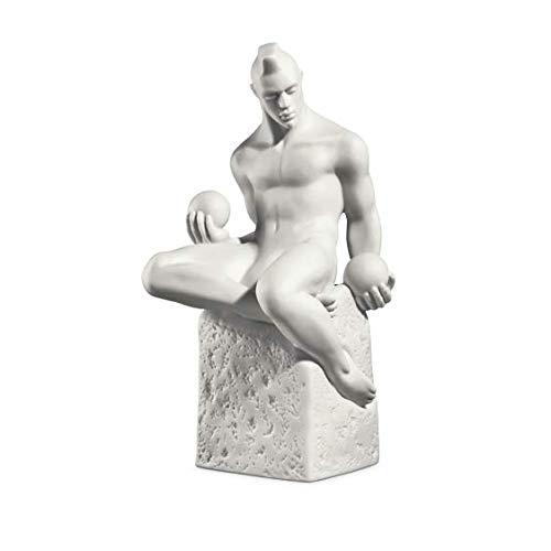 Royal Copenhagen Sternzeichen Mann, ausdrucksstarke Porzellanskulptur + + + GRATIS Mini Maxi Shopper (Widder) B07JXS21H5 Figuren e9b8d1