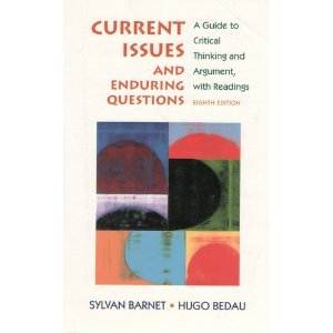Download Current Issues and Enduring Questions- A Guide to Critical Thinking and Argument, with Readings 8th Edition- Instructors Edition ebook
