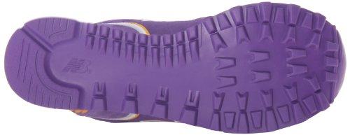 New Balance WL574 Stadium Jacket-W - Zapatillas para mujer, color morado, talla 38 Porpora