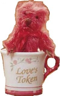 gund-tiny-teddy-wishes-loves-token-cup-with-red-mohair-bear
