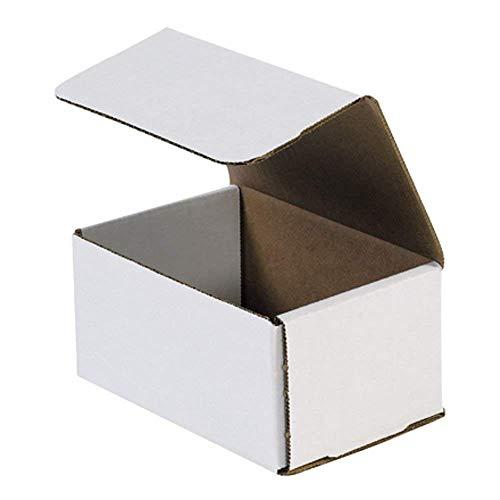 Aviditi Corrugated Mailer, 6x4x3 (2-Pack/ 100 Total)