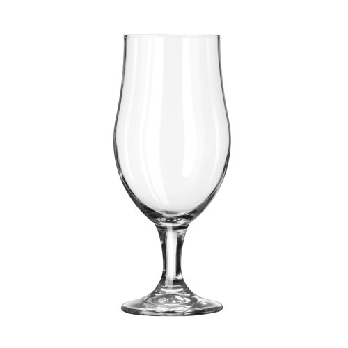 - Libbey 920284 Glass Barware - 16-1/2 oz. Footed Beer Glass I Dozen
