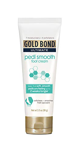 Gold Bond Ultimate Pedi Smooth Foot Cream, 3.5 Ounce - Root Ginger Moisturizer