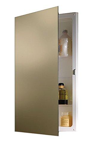 Jensen B7733X Polished Edge Mirror Medicine Cabinet, 16
