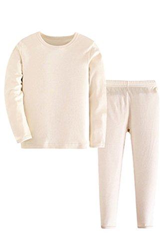 ASHERANGEL Thermal Underwear Cotton Pajamas