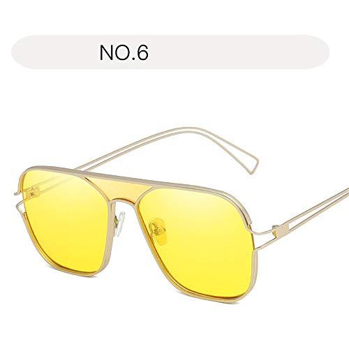 Pour Uv Protection De Women Sunglasses Summer La Uv400 Taille Couleur Lunettes Polarisées 6 Vintage Soleil No Des Voyages Free Size No Conduite Femmes 4 pq8ZqEnwx