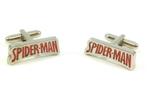 The Amazing Spider-Man Red Logo Cufflinks
