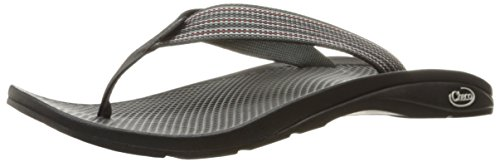 Chaco Men's FLIP Ecotread Athletic Sandal, Tread Black, 10 M (Webbing Flip Sandal)