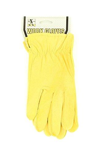 (Justin Women's Goatskin Gloves Tan Large)