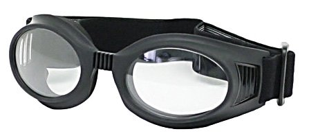 Secure-Guard, X-Ray Radiation Protection Glasses, 0.75mm Pb Equivalency Lens, Black by Colortrieve