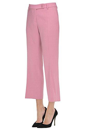 True Royal Pantaloni Donna MCGLPNC02032I Viscosa Rosa