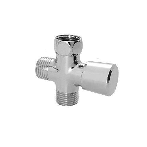 Diverter Sleeve - Jaclo 2699-PCH Push or Pull Diverter, Polished Chrome by Jaclo