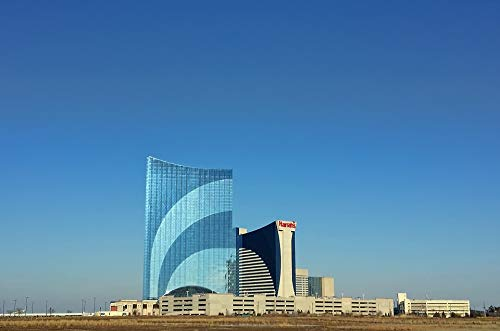 Photography Poster - Atlantic City, Harrahs, Casino, 24