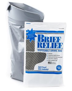 - Men and Women Brief Relief Disposable Urinal Bag (10 Pack)