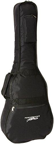Performance Plus Heavy Duty 600 Denier Nylon 1/2 To 3/4 Size Acoustic Guitar Bag (GB060)