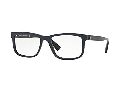 e50abb1358 Versace GRECA TETRIS VE 3253 BLUE men Eyewear Frames  Amazon.co.uk  Clothing