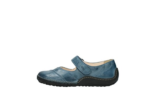 Wolky 08350 blue leather Wolky 30890 nbsp;lumière Janes Mary Confort Confort 1UrW1Bqp