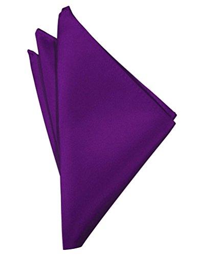 Plum Purple Pocket Square Hanky Solid Colors Sized for Boys & Men By Tuxedo Park