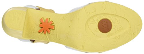 ART 0279 Star Rio, Sandalias con Correa de Tobillo para Mujer Amarillo (Wheat)