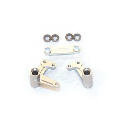 Bell Crank Set (ST Racing Concepts ST3743XS Bell Crank Set with Bearings Slash, Rustler and Bandit (Silver))