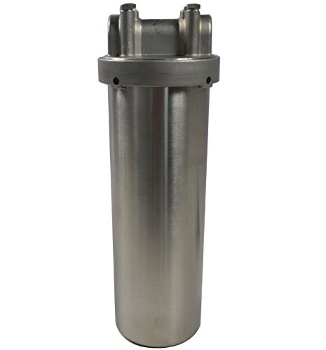 INTBUYING Filter Housing for 10inch Filter 0.75inch NPT Water Filter Housing for Whole House Water Purification of 304 Stainless Steel