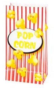Popcorn Paper Bags 1 dz