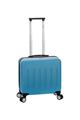 rockland-pelican-hill-rolling-laptop-case-turquoise