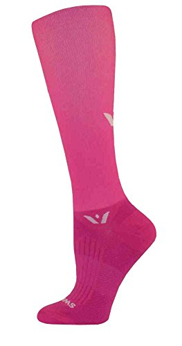 Swiftwick ASPIRE Twelve Socks, Bright Pink, Small