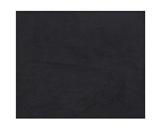 "1/8"" thick foam backed suede headliner fabric-BLACK-108""x60"""