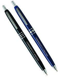 Skilcraft 7520-00-935-7136 U.S. Government Retractable Black Barrel Medium Point Ball Point Pen, Black Ink, (Pack of 12)