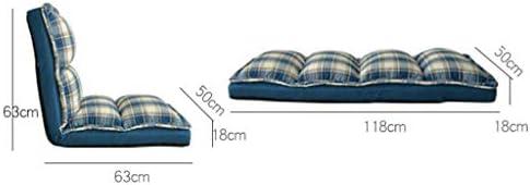 YHSGD Plancher réglable Pliant Jeu canapé Chaise rembourrée Chaise de méditation Chaise Chaise de Tatami approprié pour Salon à la Maison Bureau dortoir