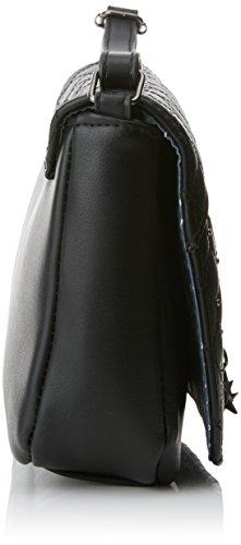 Mujer Andrea MTNG H Negro cm Negro 24x15 Negro W Bolso Bandolera Yini x Noru x 5x6 L dRdntWq6
