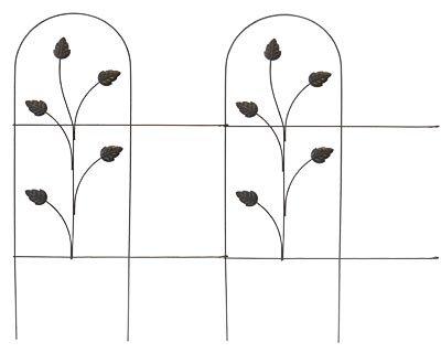 #89363 32x8 BRN Fold Fence (Pack of 10)