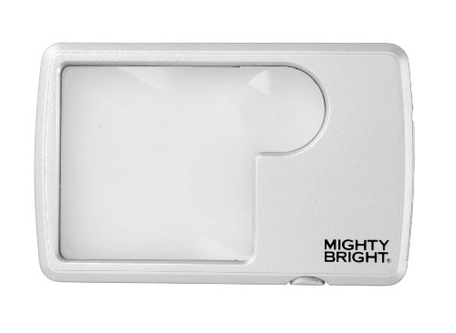 (Mighty Bright 87022 Lighted Wallet Magnifier,)