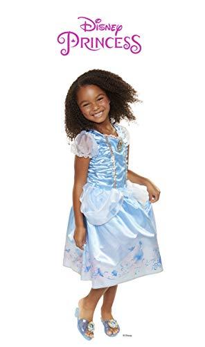Disney Princess Disney Press 04316 Cinderella Explore Your World Dress, Blue (A List Of All The Disney Princesses)
