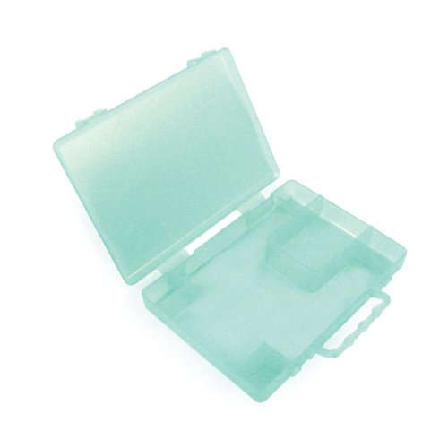 We R Memory Keepers Crop-A-Dile Corner Chomper Carrying Case, Aqua 70903-9
