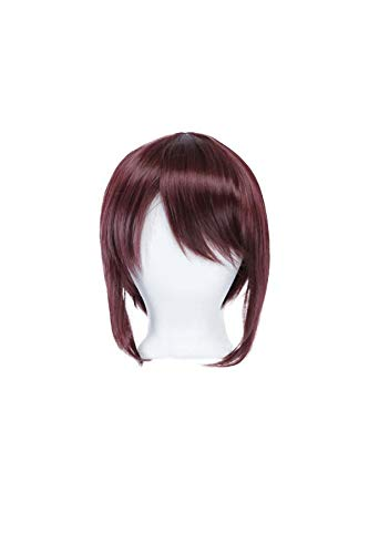 12/'/' Bob Cut Eggplant Purple Synthetic Cosplay Wig NEW
