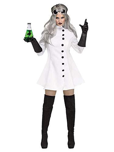 Fun World Women's Mad Scientist, Multi, Size M 8-10 (Sexy Midriff Costume)