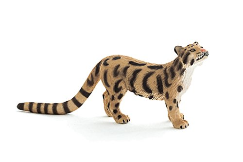 Cheetah Cat (Mojo Fun 387172 Clouded Leopard - Realistic Wild Cat Toy Replica - New for 2013!)