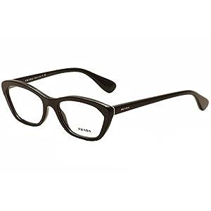 Prada PORTRAIT PR03QV Eyeglass Frames UE01O1-52 - Spotted Brown Pink PR03QV-UE01O1-52
