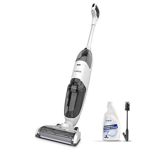 Tineco iFLOOR Cordless Wet Dry Vacuum Cleaner and Mop, Powerful One-Step Cleaning for Hard Floors, Great for Sticky…