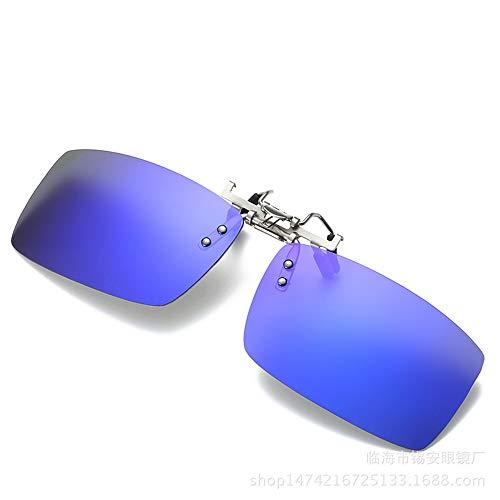 Hombres de para KOMNY Clips UV Gafas Sol magnesio Clips Sol de B C polarizados y miopía 6 de protección Gafas Mujeres B con Aluminio y de 7fnwrP7xqa