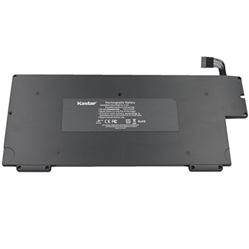 """Kastar New Laptop Battery (5-Pack) for Apple A1245 A1237 A1304 MacBook Air 13"""" (only for Early 2008 Late 2008 Mid 2009), also fit MB003 MC233 MC234 MC503 MC504 and 661-4587 661-4915 661-519 with One Free Screwdriver [Li-Polymer 4-cell 7.2V / 37Wh]"""