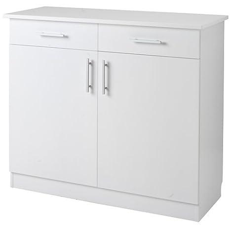Cubertería Armario Blanco lacado Alto=127 x 47 x 105 cm 1 ...