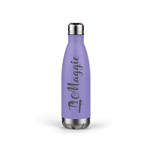 (Gymnastics Water Bottle, Back to School, Personalized Stainless Steel Travel Mug with Sports Symbol Anchor Water Bottle-17oz)