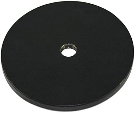 3-3//4 x 3-3//4 x 1//8 Black Iron pack of 5 0.7 lb Weighted Base