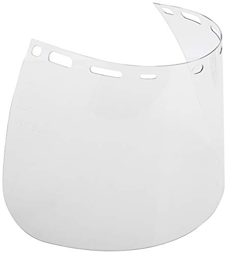 """Replacement Face Shield, 8""""x 15.5""""x .040, Clear"""