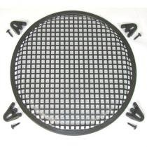 R/T 15 Steel Waffle Speaker Grill with Mounting Brackets and Screws